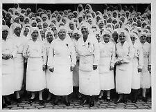 INFIRMIERES DECOREES DE LA LEGION D'HONNEUR PAR Mr MOURIER , PHOTO MEURISSE 1928