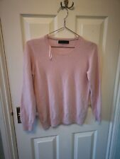 M&S cashmere jumper baby pink Fits UK12