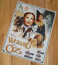 Classic 1939 Film The Wizard of Oz Dorothy Movie Poster Metal Advertising Sign