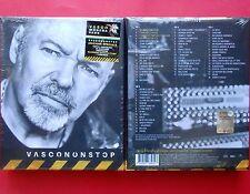 box set vasco rossi cofanetto 4 cd + fotobook + bandiera modena park + adesivo v
