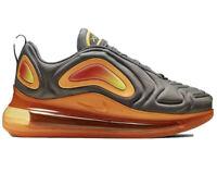 Nike Air Max 720 GS Shoes Gunsmoke Orange AQ3196-004 Gs 6.5 Women's 8 Off White