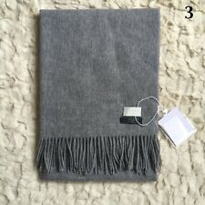 2017Fashion Women Winter Cashmere Blend Pashmina Solid Tassel Shawl Wrap Scarves