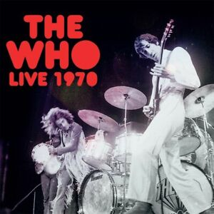 THE WHO - Live 1970. New Double VINYL LP RECORD + Sealed. **NEW**