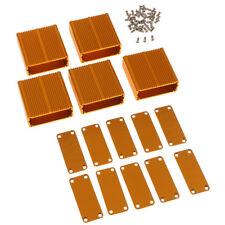 Universal 5x Aluminum Enclosure Box Case DIY for Projector AMP 45x19x45mm