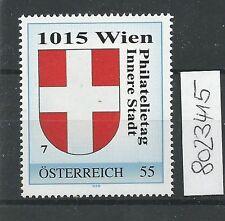 Österreich PM personalisierte Marke Philatelietag 1015 WIEN 8023415 **