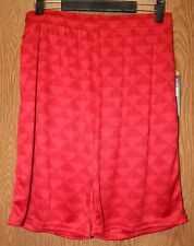 Mens Red Triangle NBN Gear Basketball Shorts Size Medium NWT NEW
