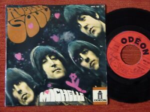 45T THE BEATLES - RUBBER SOUL - MICHELLE - ODEON MEO 102 - 1966