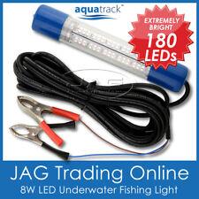12V~24V 180 LED WHITE UNDERWATER FISHING BOAT SQUID LIGHT WATERPROOF -Fish/Prawn
