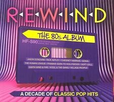 Rewind - The 80s Album 45 Classic Pop Hits on 3 Audio CDs BARGAIN