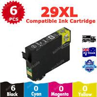 6 Non-OEM 29xl Black Ink Cartridge for Epson expression xp235 xp432 xp435 xp245