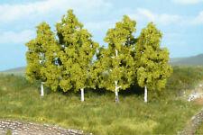 * Heki scala N/H0//TT 1998  6 x  alberi di Betulle, da 8 cm. Nuovi OVP