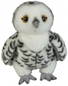 KEEL 18cm OWL WHITE WITH GREY BEAK NEW TAGS WOODLAND BIRDS