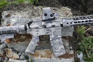 Premium Vinyl M-Series Rifle skin GunsWrap. Camouflage Kit for Gun. 149 patterns