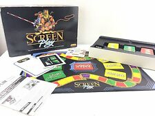 Screen Play Board Game Movie Mime Game Vintage 1988 Spears Games FREE UK POST