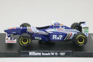 Jacques Villeneuve 1997 Williams Renault FW19 #3 RBA 1/43 Formula 1 F1