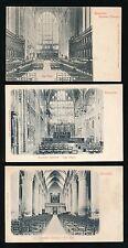 Gloucestershire GLOUCESTER Cathedral x9 c1902 u/b PPCs