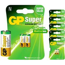 12 x GP LR1 1.5V Alkaline Batteries MN9100 N 910A E90 KN AM5 Bite Alarm Security