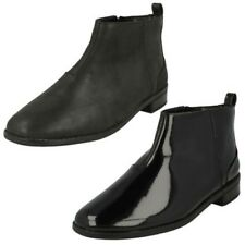 Clarks Girls Ankle Boots Drew Moon