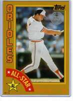 Cal Ripken Jr. 2019 Topps 1984 Topps All-Stars Oversize 5x7 Gold #84AS-CR /10 Or
