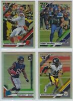 2019 Donruss Optic Football SILVER Prizm Vets & RCs Complete Your Set You Pick