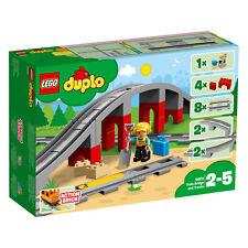 LEGO Duplo 10872 Eisenbahnbrücke und Schienen Train Bridge and Tracks VORVERKAUF