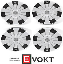 "4 x Audi A3 S3 8V Wheel Cover Caps 16"" Hub Caps 8V0601147 Genuine New"