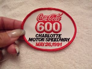 VTG Patch Coca-Cola 600 May 26, 1991