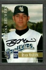 2005 Helena Brewers Team Set #16 Ryan Marion Signed Autograph Baseball Card