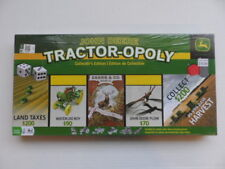 Tractor-Opoly John Deere Collector's Edition Factory Sealed Monopoly