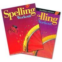 6th Grade 6 MCP Spelling Workout Level F Homeschooling Kit Homeschool Curriculum