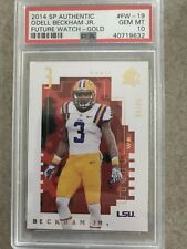 Odell Beckham Jr 2014 SP Authentic Future Watch Gold PSA 10 Gem Mint 34/99