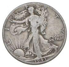 1943-D Walking Liberty 90% Silver US Half Dollar *182