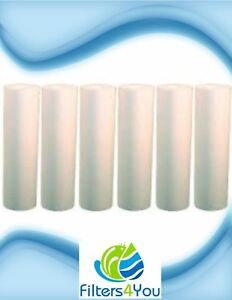 """Fits Pentek DGD-5005-20 5 Micron Whole House 20"""" Sediment Water Filter 6 Pack"""
