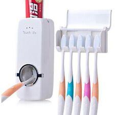 Toothpaste Dispenser Wall Mounted Toothbrush Holder Set