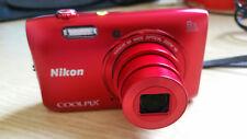 Nikon Coolpix S3600 - 20.1 megapixels Digital Camera - Very Good Condition