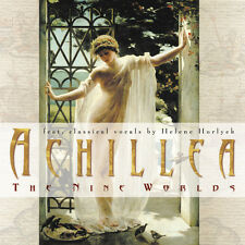 ACHILLEA The Nine Worlds CD NEU Produced by Jens Gad / Pop With Vocals/Chillout