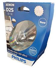 D2S PHILIPS WhiteVision 5000K Xenon BRENNER BULB +120% 85122WHV2S1 +