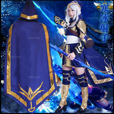League of Legends LOL Ashe Cosplay Costume Full Suit Uniform Costume-made New
