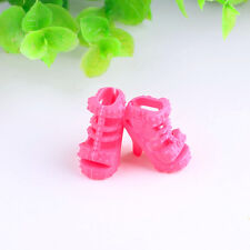 High quality 10paris High-heeled cute shoes outfit for Barbie doll party a422