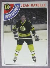 1978-79 Topps #155 Jean Ratelle Boston Bruins