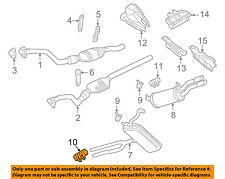 For 1994-2005 Volkswagen Jetta Exhaust Clamp 16529KD 2003 2002 2000 2004 2001