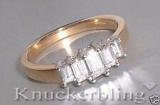 Emerald Engagement Yellow Gold 18 Carat Fine Diamond Rings
