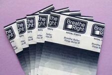 10x Breathe Right Extra Color Piel Pruebas i Parche de Nariz Tiras Ronquidos