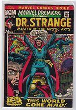 Marvel Premiere #3 [Vol 1, July '72] Dr. Strange! Stunning Barry Smith art! [Vf]
