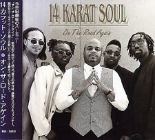 On The Road Again - 14 Karat Soul NEW SEALED JAPAN CD 1999, Pony Canyon Records