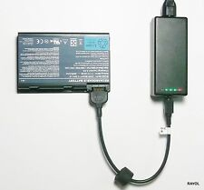 External Laptop Battery Charger for ACER TravelMate 5220 6410 6460, LIP6219IVPC