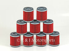 2009-2015 YAMAHA YFZ450R YFZ 450R ***9 PACK*** HIFLO OIL FILTERS FILTER