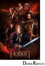 The Hobbit Dos (Fire Montage) - Maxi Poster - 61cm x 91.5cm -  PP33268 - 499