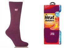 1 Pair Ladies GENUINE Thermal Winter Warm Heat Holders Socks 4-8 uk Deep Fushsia