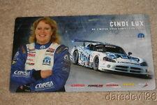 2008 Cindi Lux Mopar Dodge Viper GT Speed World Challenge postcard